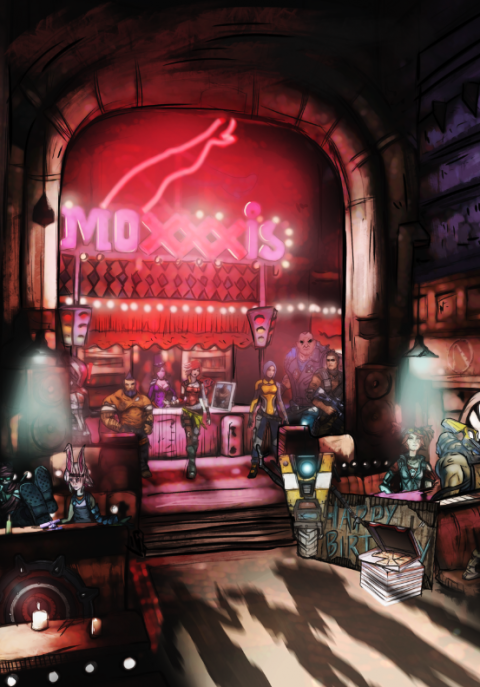 Theres a new gang in town (Moxxi's)