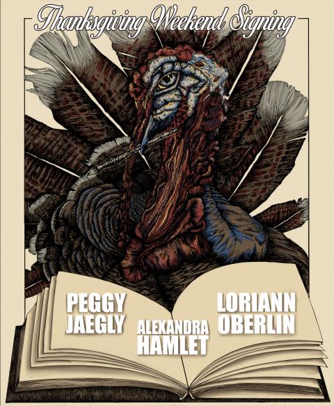 Thanksgiving Book Signing