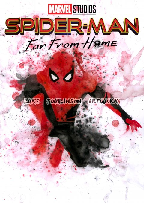 Spider-Man: Far From Home (Watercolour)