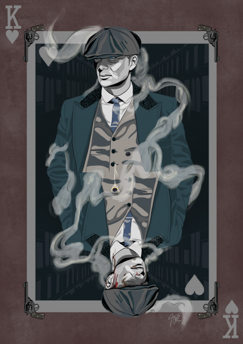 Tommy Shelby 'King of Hearts' Peaky Blinders