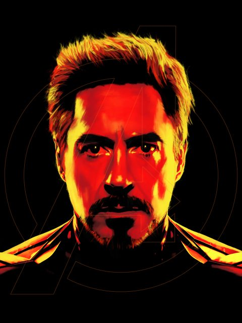 Iron Man (Portrait)