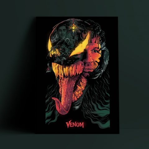 Alternative Movie Poster- Venom (Version 2)