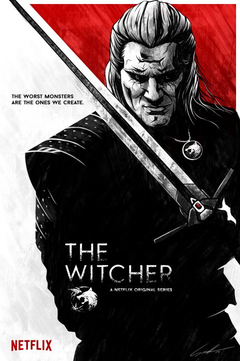 A Netflix original series: The Witcher