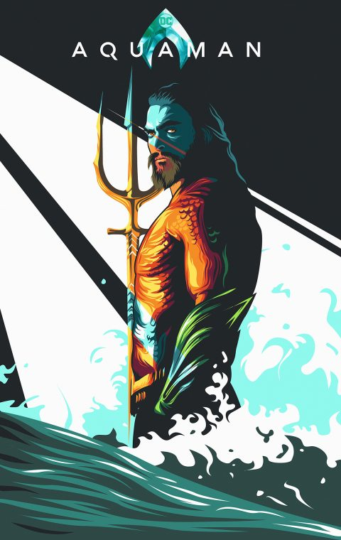 Aquaman (movie poster/artwork)