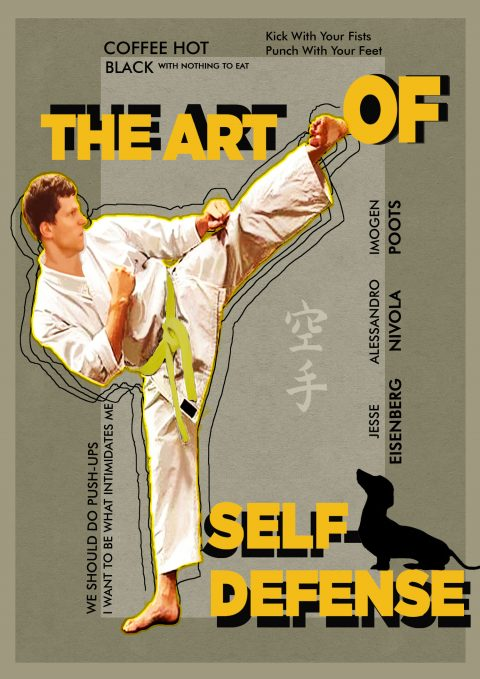 The Art of Self-defense Poster by Sam Gonzalez