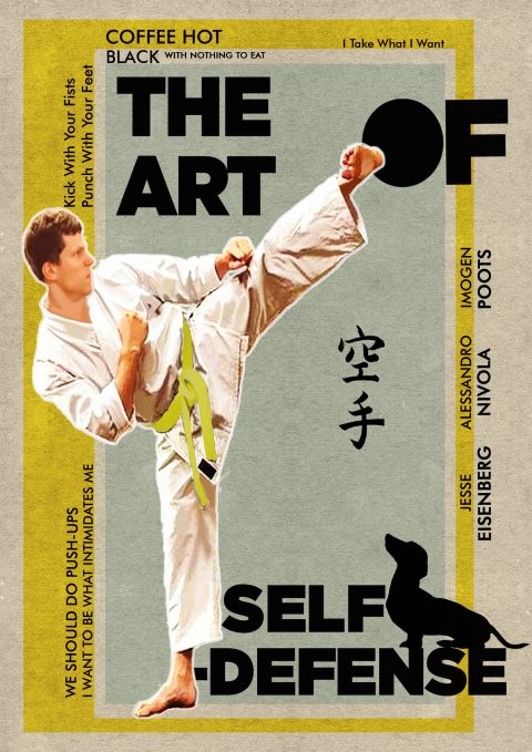 The Art of Self-defense Poster giallo