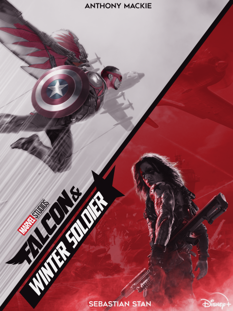 Falcon and Winter Soldier Poster