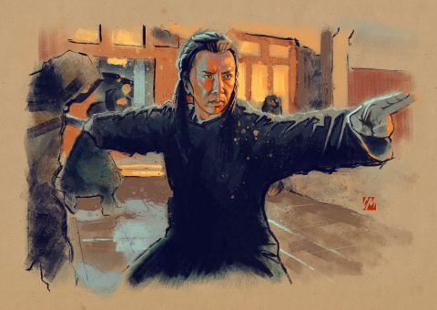 Donnie Yen sketch