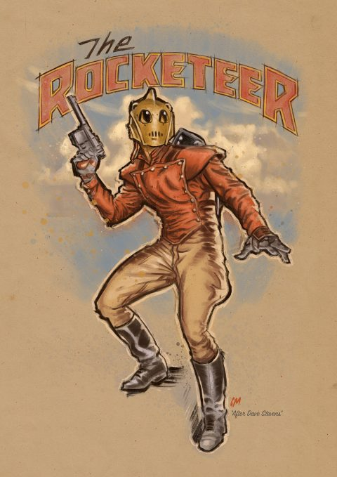 The Rocketeer sketch