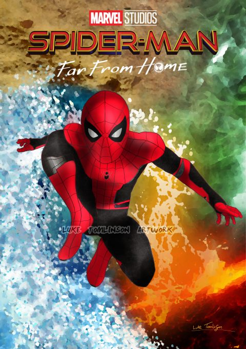 Spider-Man: Far From Home (Poster 1 design 1)