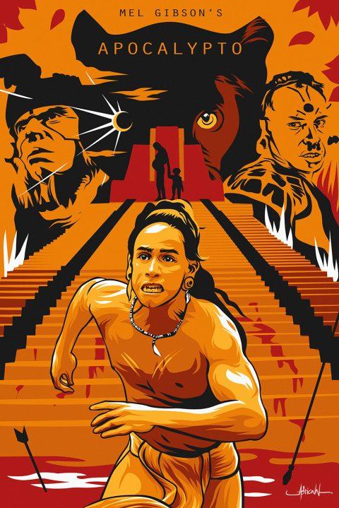 Mel Gibson's APOCALYPTO (artwork/poster)