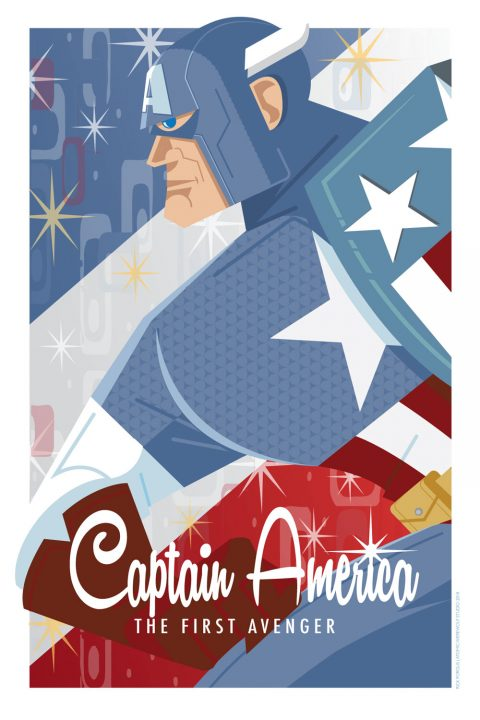 CAPTAIN AMERICA-THE FIRST  AVENGER