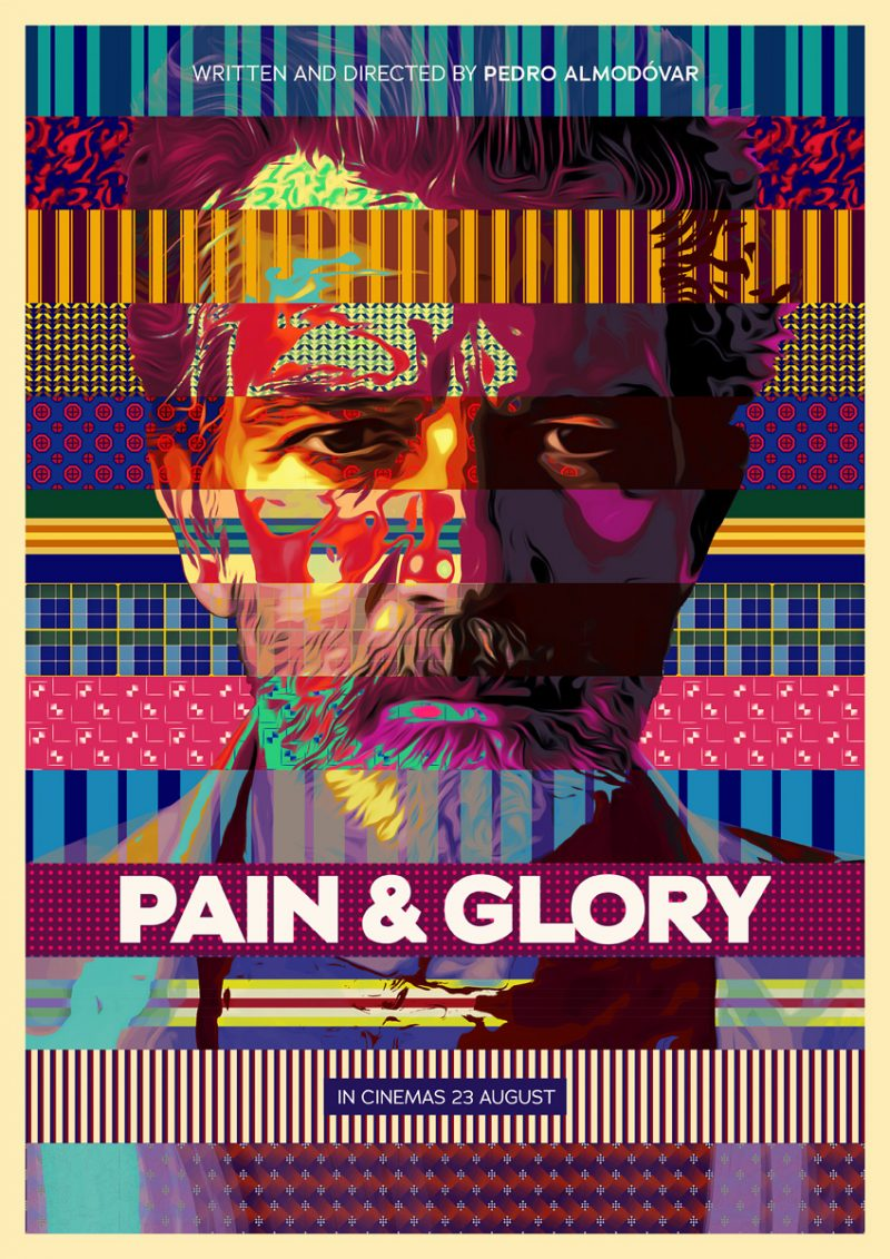 Image result for pain and glory poster