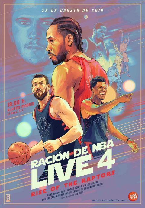 Ración de NBA Live 4: Rise of the Raptors