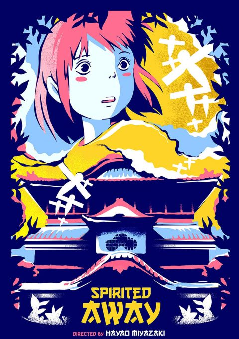 Spirited Away – movie poster