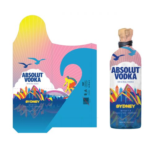 Branding Concept- Re-imagining the brand package design of the legendary Absolut vodka