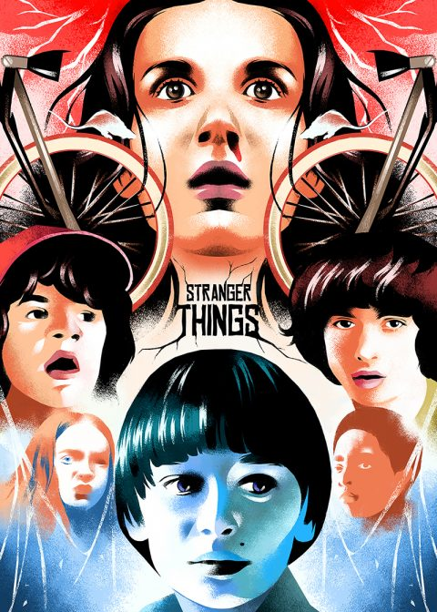 Stranger Things Season 3 – poster art