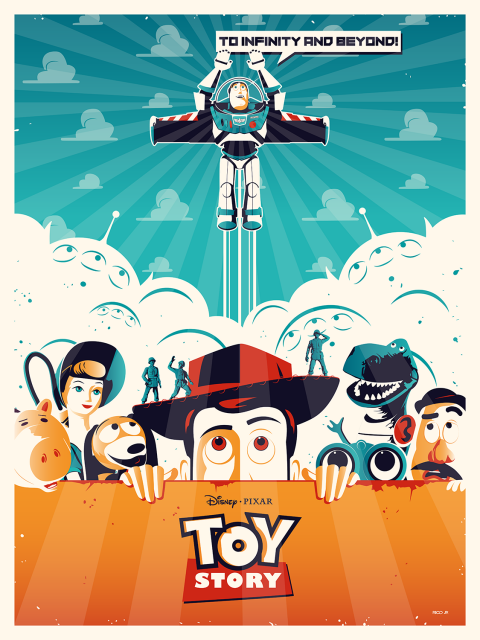 Official TOY STORY Poster