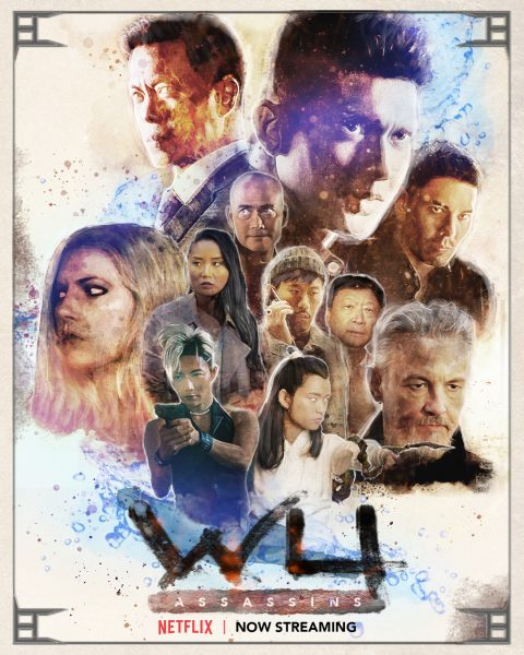 Wu Assassins Netflix Poster
