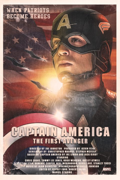 1980s Captain America – The First Avenger