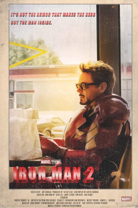 Iron Man 2 (2010) 1980s Style