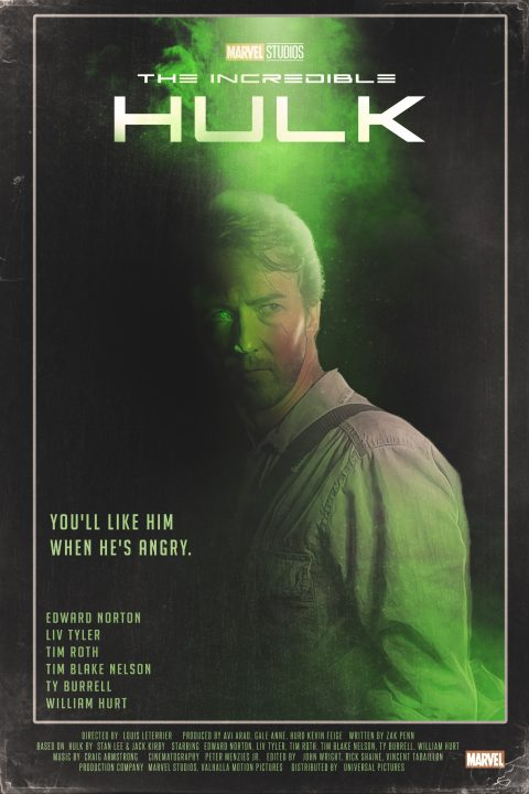 The Incredible Hulk (2008) 1980s Style