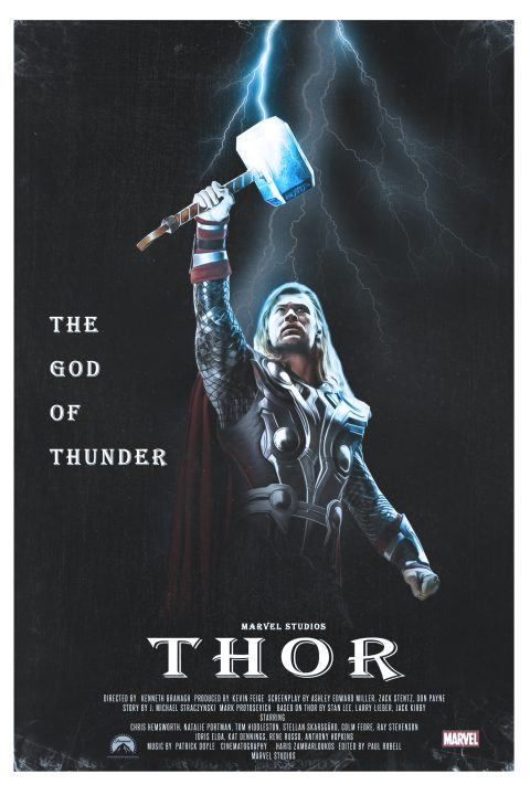 Thor (2011) 1980s Style
