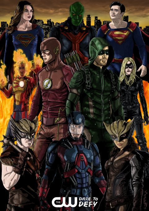 CW Super Heroes