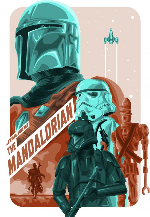The Mandalorian Alternative Poster