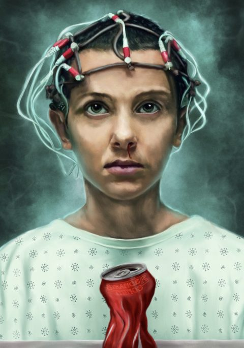 Stranger Things – Eleven portrait