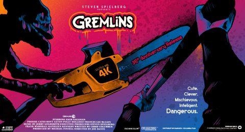 Gremlins 4K Release Poster