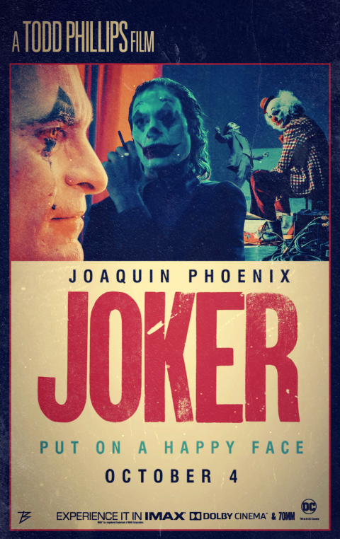 RETRO POSTER OF JOKER MOVIE (Cracked Version)