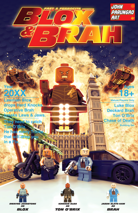 FAST & FERROCITE PRESENTS BLOX & BRAH MOVIE MASHUP PARODY 3D PACKAGE DESIGN