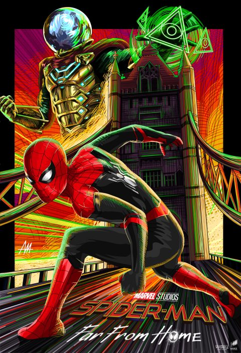 "SPIDERMAN: FAR FROM HOME ""battle"""