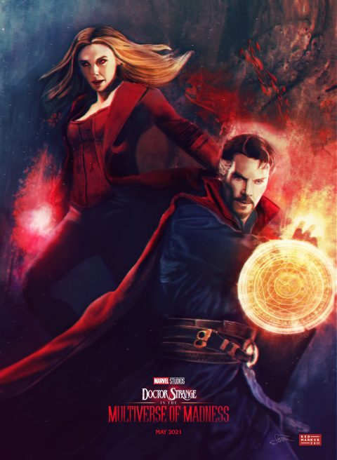 Doctor Strange In The Multiverse Of MADNESS – Concept poster