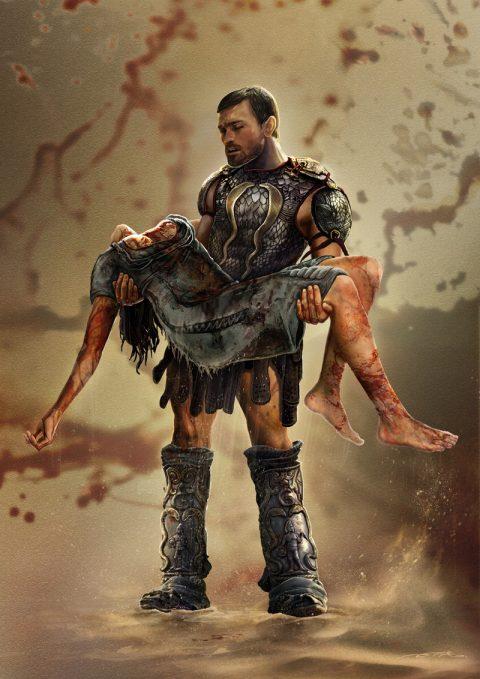 SPARTACUS Poster -Fan Art