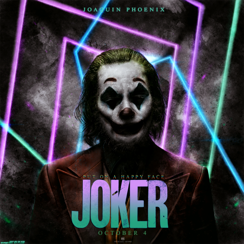 Joker 2019 alternative poster