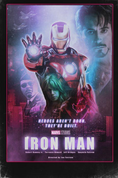 Iron Man (2008) 1980s Style