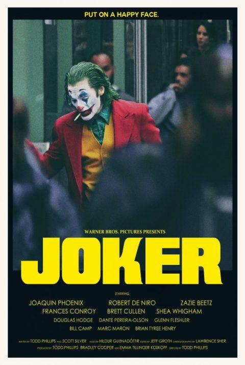 Joker Retro Poster