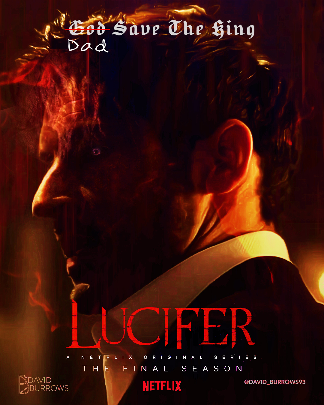 Lucifer Season 5 Netflix Poster Posterspy