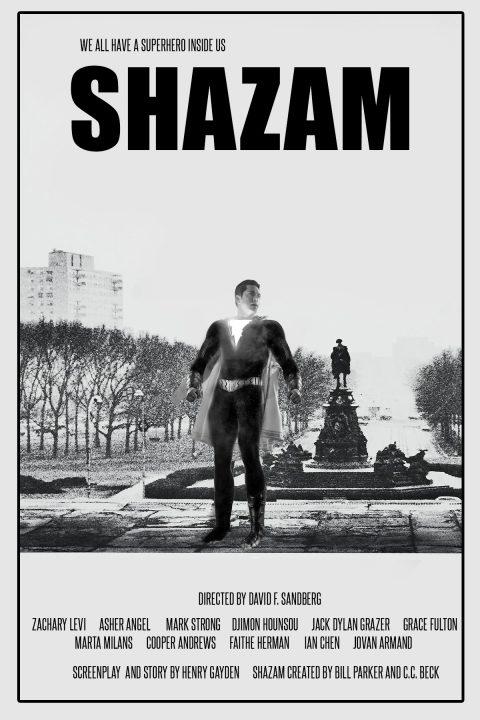 Shazam – Rocky Homage