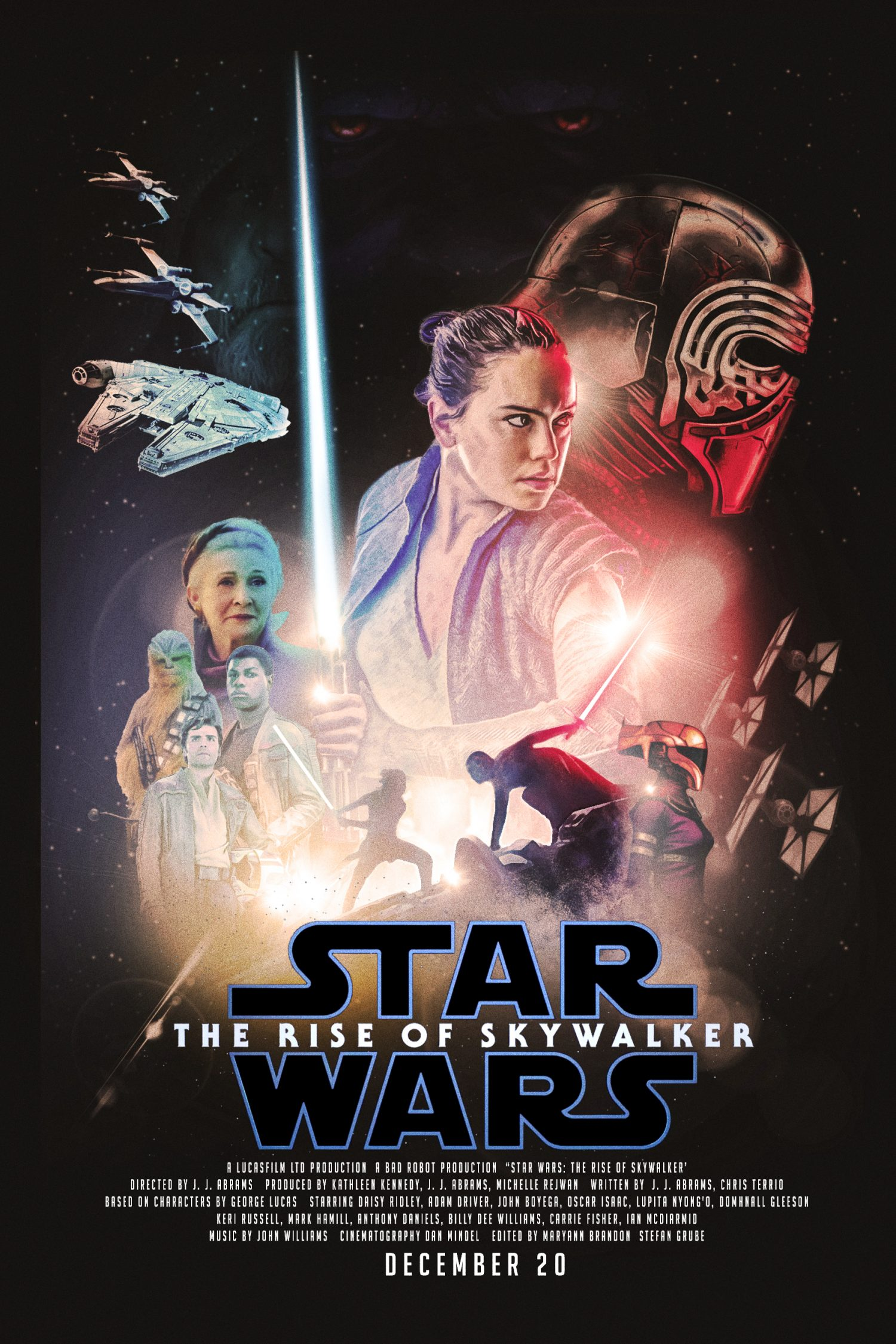 Star Wars The Rise Of Skywalker Classic Posterspy
