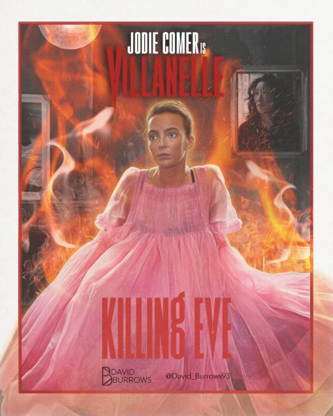 Killing Eve Villanelle Poster