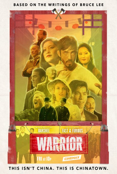 Warrior Cinemax Poster