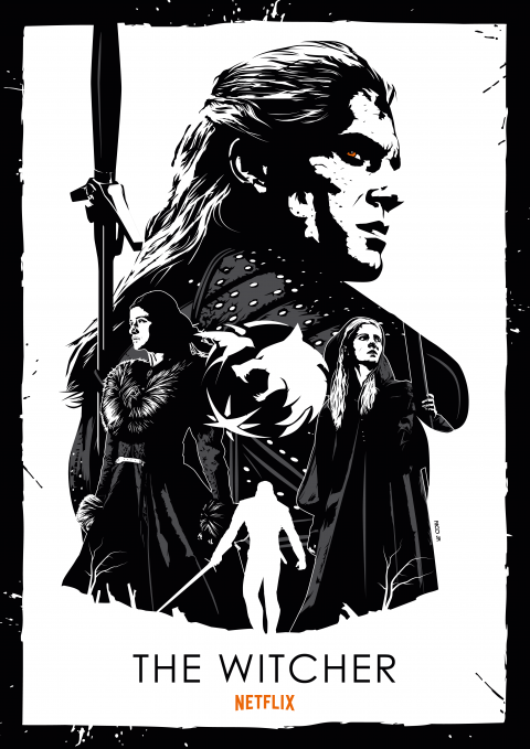 THE WITCHER Poster Art