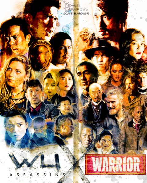 Warrior X Wu Assassins poster