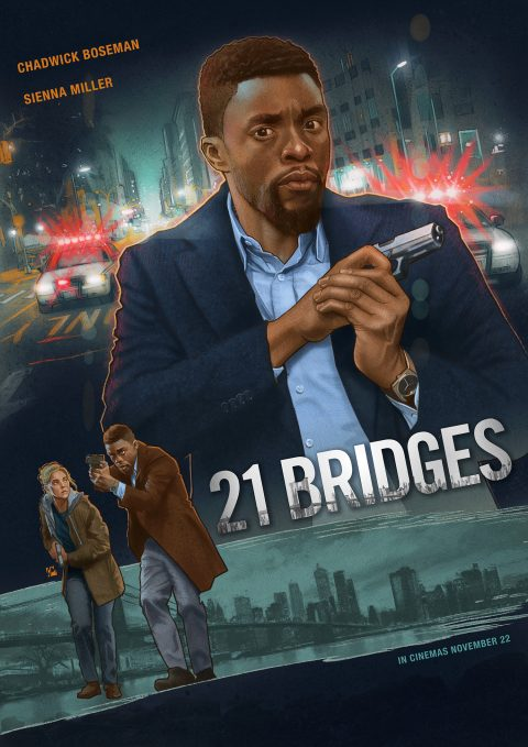 21 Bridges alternative movie poster