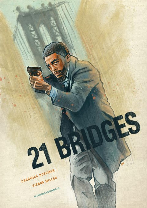 21 Bridges alternative poster option 2