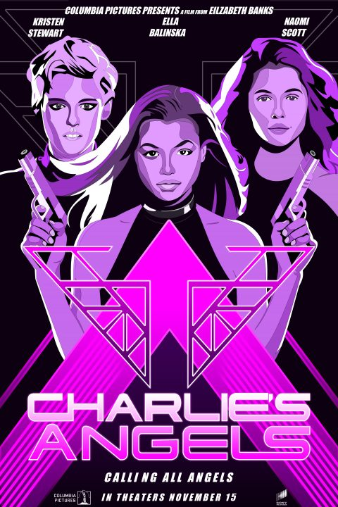 "Charlie's Angels ""Calling All Angels"" Poster"