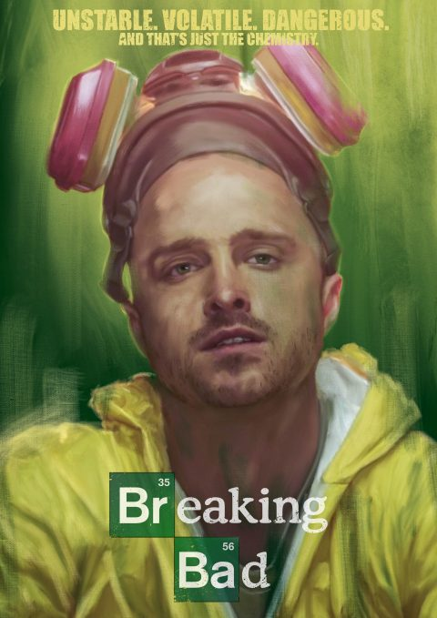 Breaking Bad – Jesse Poster